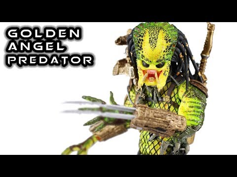 NECA Ultimate Elder (The Golden Angel) Predator Action Figure Review