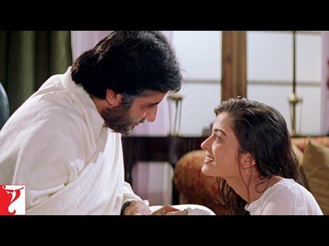 Scene - Mohabbatein   Aap iss duniya ke sabse acche papa hai   Amitabh Bachchan   Aishwarya Rai   veocafe - Youtube Auto