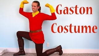 How To Make A Gaston Costume From Disney Beauty And The Beast!