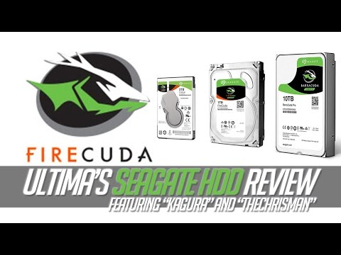 Seagate BarruCuda and FireCuda Gamer's Review