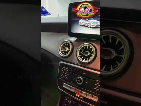 【ML】Mercedes Benz CLA Ambient Light