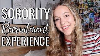 My Sorority Recruitment Experience At Florida State University