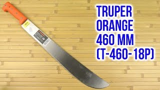 TRUPER T-460-18P Orange - відео 1