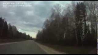 От  поворота на Нолинск до поворота на Медведок