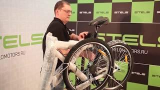 Видео инструкция по сборке и настройке велосипеда на примере