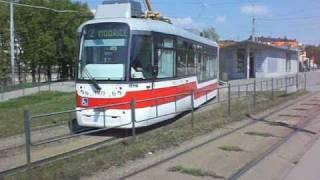 preview picture of video 'Die Straßenbahn in Brno / Tramvaj v Brně (22.+23.04.2011)'