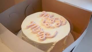 Bridal Shower Cake Design / 브라이덜 샤워 케이크 디자인