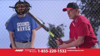 HearUSA-AARP Baseball Hearing Reimagined