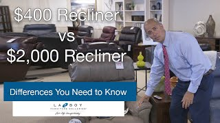 $400 Recliners vs $2,000 Recliners:  Differences You Need to Know