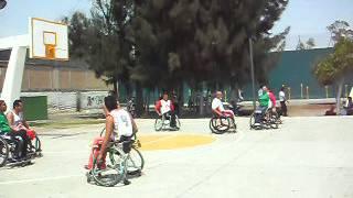 preview picture of video 'Exhibición de Basketball Adaptado. 50 Aniversario de Ciudad Nezahualcóyotl.'
