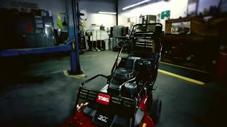 TurfMaster 30 inch Commercial Lawn Mower: New from Toro