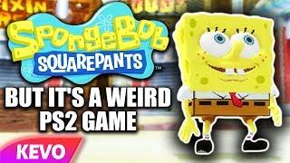 Spongebob but it's a weird PS2 Game