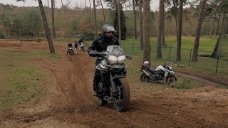 Triumph Adventure Experience - Offroading The Tiger 800 And 1200