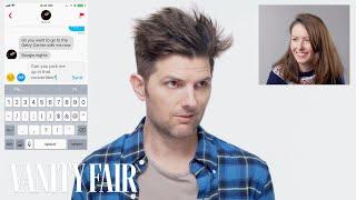 Adam Scott Hijacks a Stranger's Tinder | Vanity Fair - Video Youtube