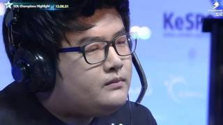 Ryu and Faker talk about their Zed 1 v 1 duel and what will happen when they meet again! -___-