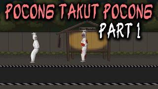 Pocong Takut Pocong - Part 1 | Animasi Horor Kartun Lucu | Warganet Life