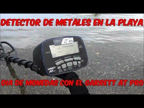 Detector De Metales en la Playa : dia de monedas con el Garrett AT Pro