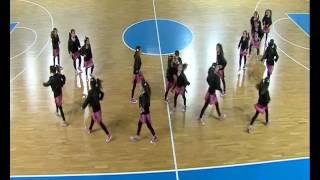 DanceClubAqua гости за финалниот натпревар за кошаркари до 14 години
