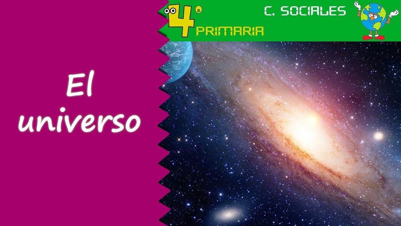 Ciencias Sociales. 4º Primaria. Tema 1. El universo