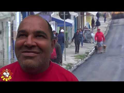 É brincadeira uma coisa dessas precisou o Ayres Scorsatto voltar depois de 8 anos para arrumar a principal rua do Barnabés a rua Antônio Soares Godinho.