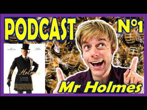 """PODCAST - N°1 - """"Mister Holmes"""" - Abeilles et harmonica de verre."""