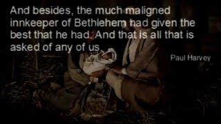 Paul Harvey: The Bethlehem Innkeeper