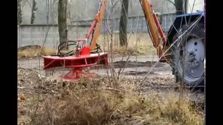"Косилка-кусторез ЕМ-1,3/-01 от компании ООО ""Технобелсервис"" - видео"