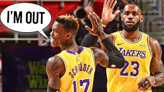 Exposing The REAL Reason Behind the Lakers Downfall (Dennis Schroder is a Snake?)