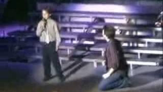 10 Yr Old Boy Sings @ Michigan Clay Aiken Concert