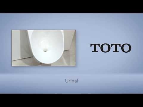 Das Urinal von TOTO: Endlich Hygiene in öffentlichen Toiletten