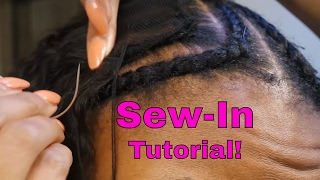 Sew In Weave with Aliexpress Kinky Curly Hair + Review