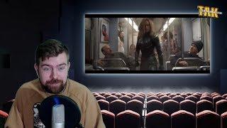 Капитан Марвел – Трейлер – Реакция