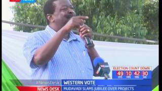 Musalia Mudavadi slams Jubilee over Western votes