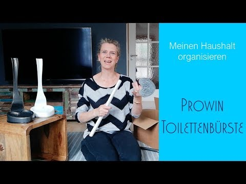 Prowin WC-Bürste  | Orangenschaum | Meinen Haushalt organisieren | Nickis Blog