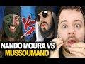 Nando Moura VS. Mussoumano | Batalha de Youtubers (Mussoumano) - REACT