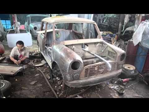 Video QQ MINI MORRIS - Bengkel Specialis Mobil Mini Morris