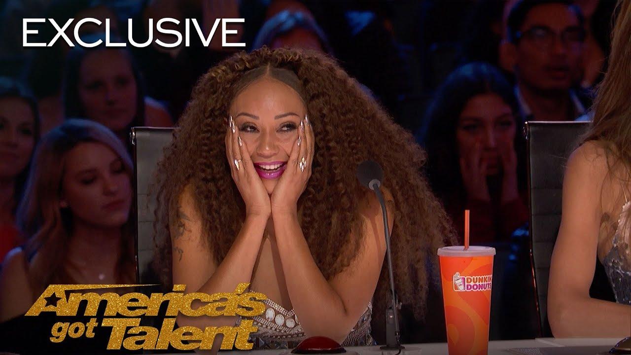 Mel B is Shook - America's Got Talent 2018 thumbnail