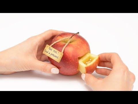 הגשה מהממת: חיתוך יצירתי של פירות וירקות