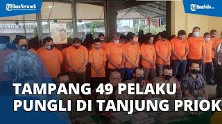 Ini Tampang 49 Pelaku Pungli di Tanjung Priok, Polisi Tangkap seusai Presiden Jokowi Telepon Kapolri
