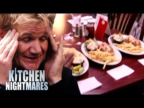 Gordon Ramsay is Served 3 AWFUL Lobster Rolls | Kitchen Nightmares