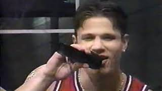 98 Degrees *Invisible Man*  NBA Team It Up