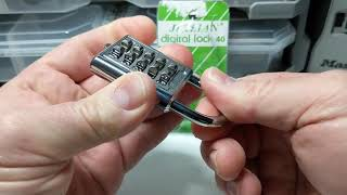 """""""Ji & Lian Digital Lock"""" Ten Digit Padlock Decoded"""