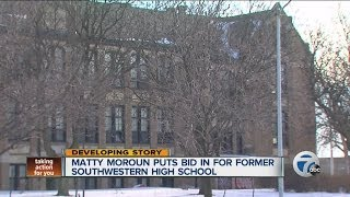 Matty Moroun puts bid in for abandoned Detroit school