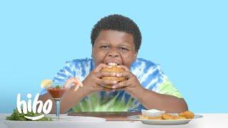 Kids Try Meatless Foods | HiHo Kids