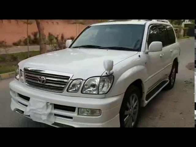 Toyota Land Cruiser Cygnus 2002 for Sale in Lahore