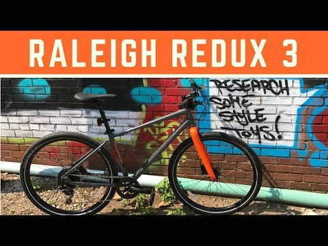 2018 Raleigh Redux 3 Urban Street Bike – Overview and first look