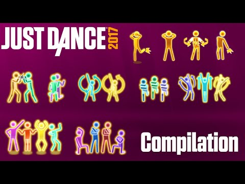 Just Dance 2017 - Gold Moves Compilation
