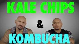 Cholos Try VEGAN Food: KALE CHIPS and KOMBUCHA | mitú