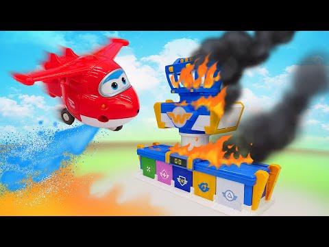 Сказки для детей - Аэропорт Супер крыльев в беде - Машины сказки видео