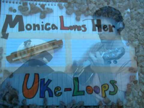 Monica Loves Her Uke-loops - Ukulele Instrumental (Original)